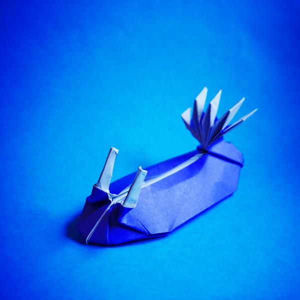 折り紙のウミウシ