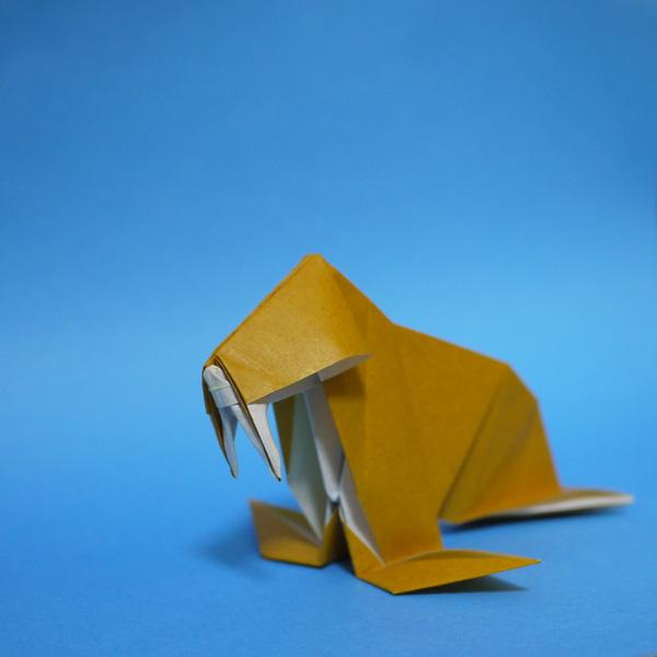 折り紙 セイウチ