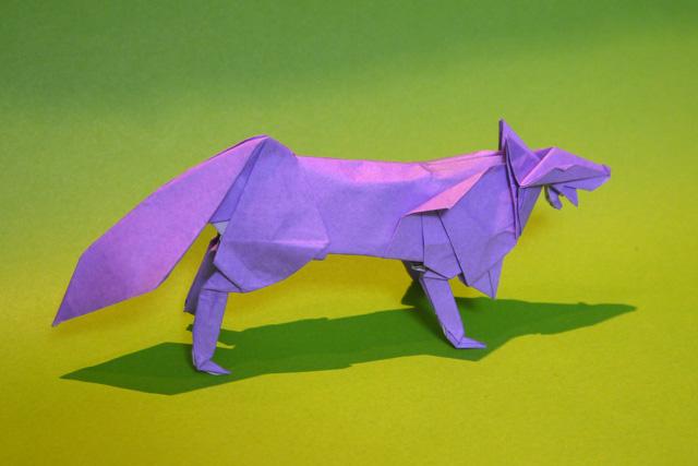 すべての折り紙 簡単折り紙 魚 : 折り紙 オオカミ - 折り紙 Origami ...