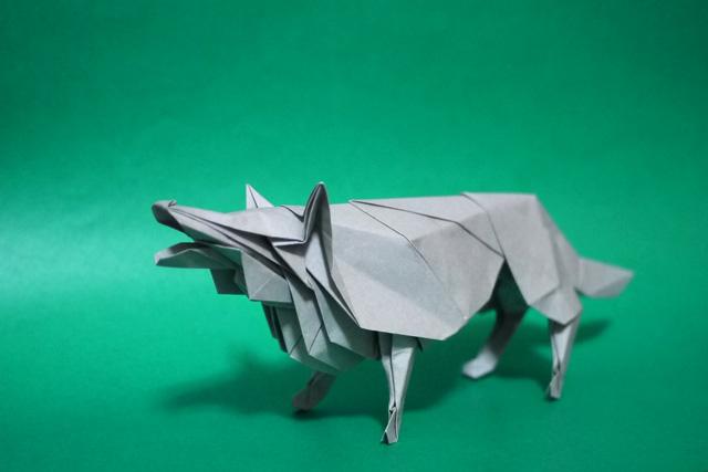 折り紙 狼