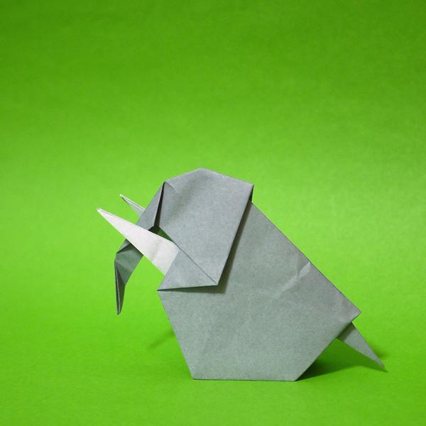クリスマス 折り紙 : 折り紙 ぞう : origamida.com